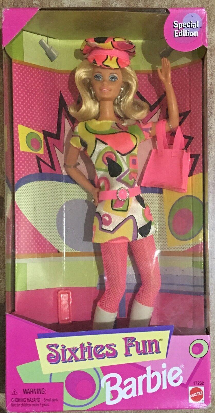 Barbie Barbie Barbie Mattel Sam's Club Sixties Fun 60'S Vintage 97' 183f57