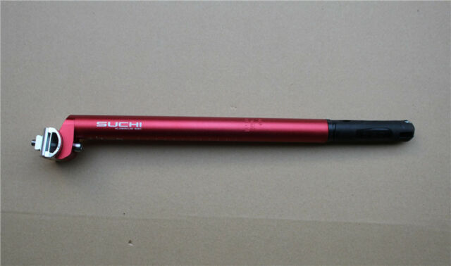 Qbicle Bike CO2 pump /& Inflator Seatpost Carrier 27.2mm Black