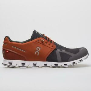 New-On-Cloud-50-50-Men-039-s-Stone-Rust-CloudTec-Running-Shoes-r1