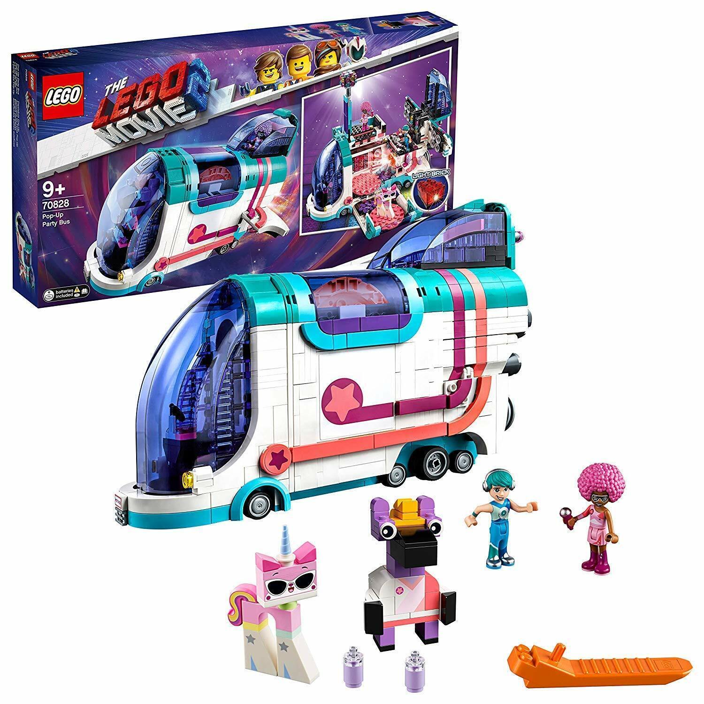 The LEGO Movie 2 Pop-Up Party Bus Playset Toy Lego Set 70828 Zebe Minifigure