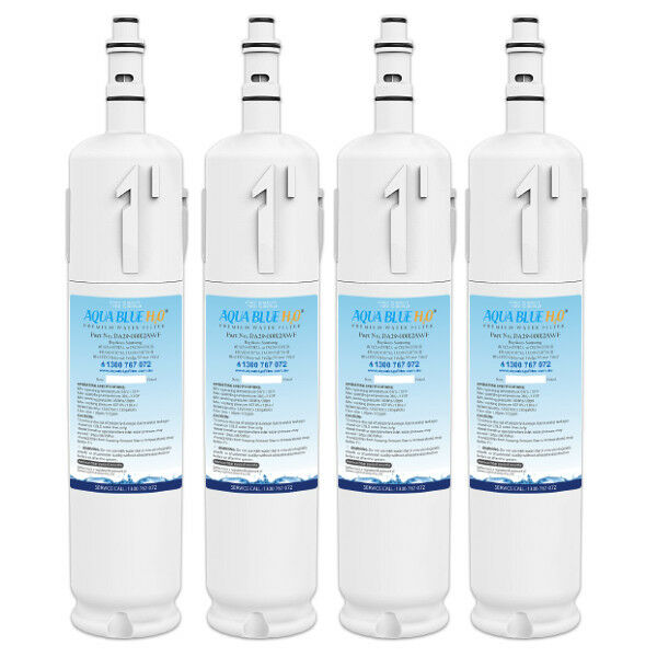 4 x Samsung DA29-00012A DA29-00012B Fridge Water Filters GENERIC