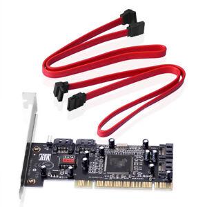 PCI-Karte-gt-4-x-intern-SATA-ATA-mit-RAID-Erweiterung-4x-SATA-intern-I-O-PC-Kabel