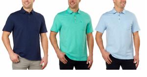 Izod Men/'s Slub Polo Shirts Variety NEW!