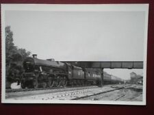 POSTCARD STEAM TRAINS OF CHESHIRE 1949  - 'SILVER JUBLIEE' LOCO 45566  'QUEENSLA