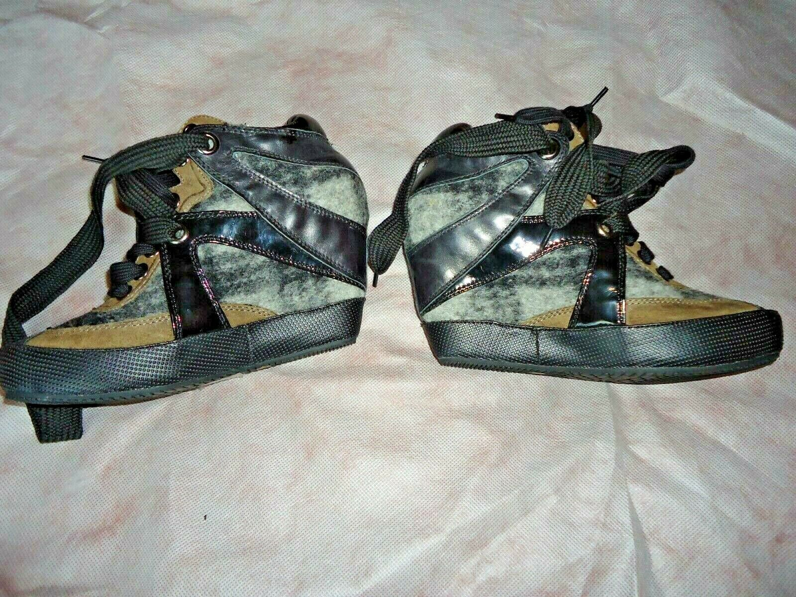 New LOGAN LOGAN LOGAN CROSSING women wedge shoes size 7 (40) fdda0d