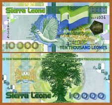 Sierra Leone / Africa, 10000 Leones, 2004, Pick 29 (29a), UNC