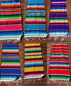 Beau Image Is Loading Mexican Serape Table Runner 72 034 Lightweight Saltillo