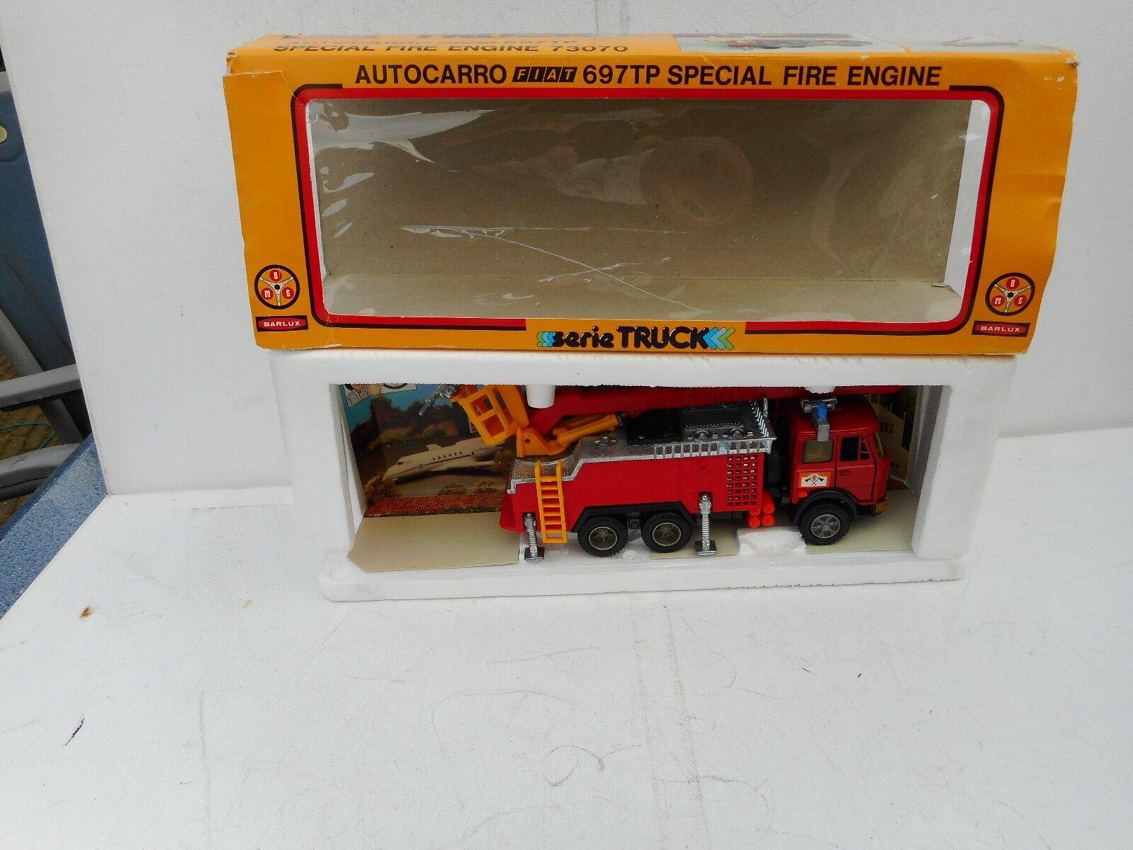 ci sono più marche di prodotti di alta qualità FORMA giocattoli      BARLUX AUTOautoRO 1 35  FIAT 697TP specialeee FIRE ENGINE 73070 scatolaED  comprare a buon mercato