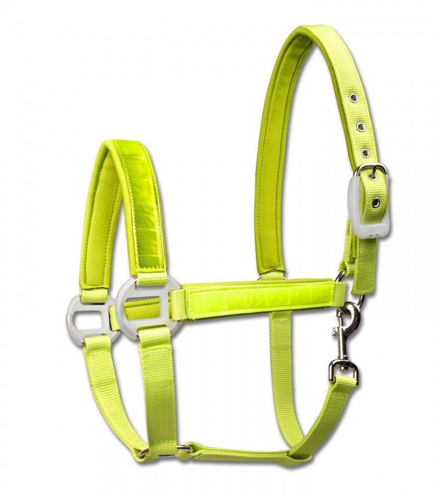 Reflex Halfter Waldhausen Horse Fashion yellow NEU