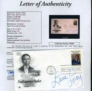 Lucy-Lucille-Ball-Signed-Jsa-Certified-Fdc-First-Day-Cover-Authenticated-Autogra