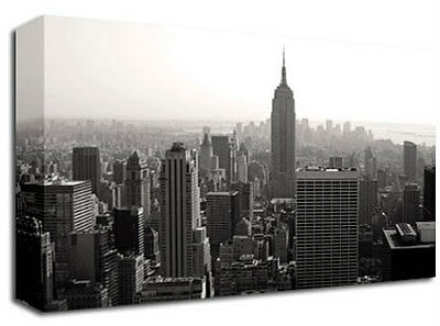 New York Empire State Building Canvas Art Print A1 L