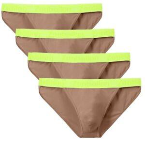 4-x-Herren-Slip-Sexy-Dessous-Pouch-Soft-Unterwaesche-Maenner-Elastisch-Unterhose
