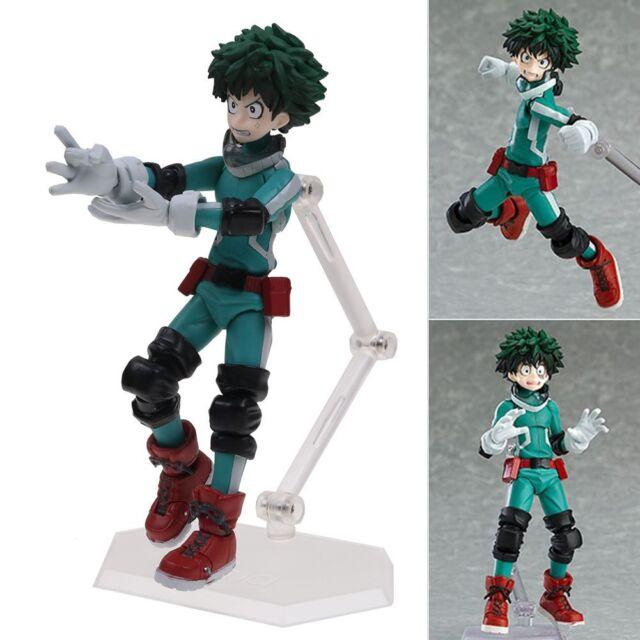 Figma 323 Anime My Hero Academia Character Midoriya Izuku Vinyl Figure Toys Gift