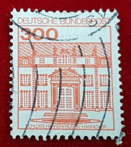 Briefmarke Deutsche Bundespost 300 Pfennig Schloss Herrenhausen