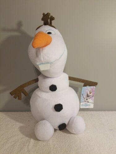 "Disney Frozen 15/"" Olaf Large Plush Soft Fabrics Stuffed Animal Children Kids NEW"
