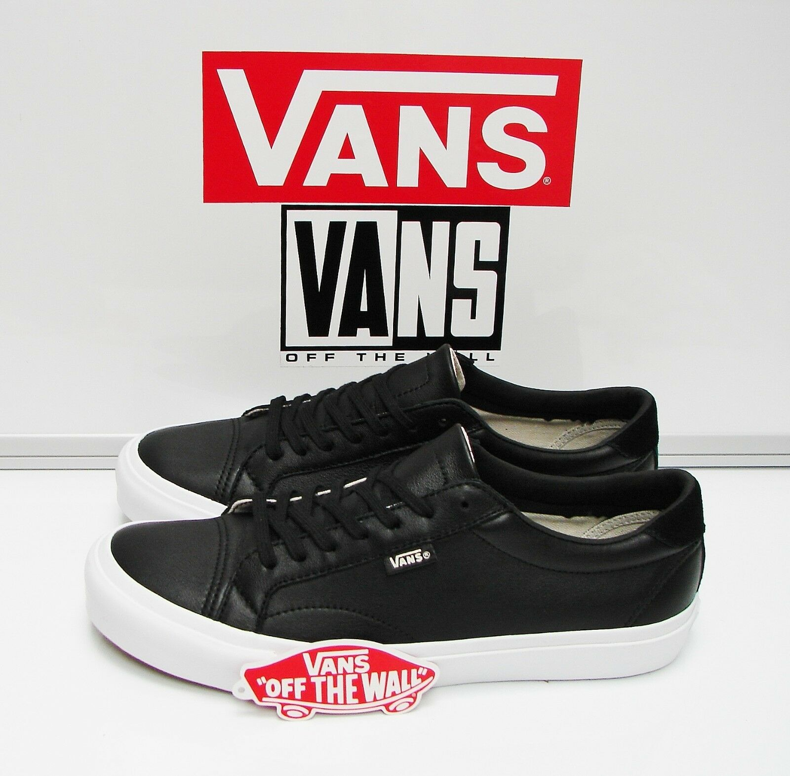 Vans Court DX Leather Black VN0A2Z5OL3A Men's Size  9