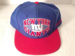 Image is loading NFL-New-York-Giants-Throwback-Reebok-Snapback-Hat- f7e5df13b05