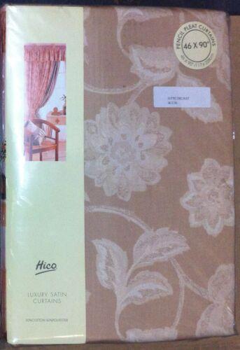 beige Rideaux HiCO luxe rideau de satin nouveau dans différentes tailles