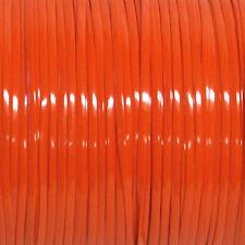 100 YARDS (91m) SPOOL ORANGE REXLACE PLASTIC LACING CRAFTS CYBERLOX