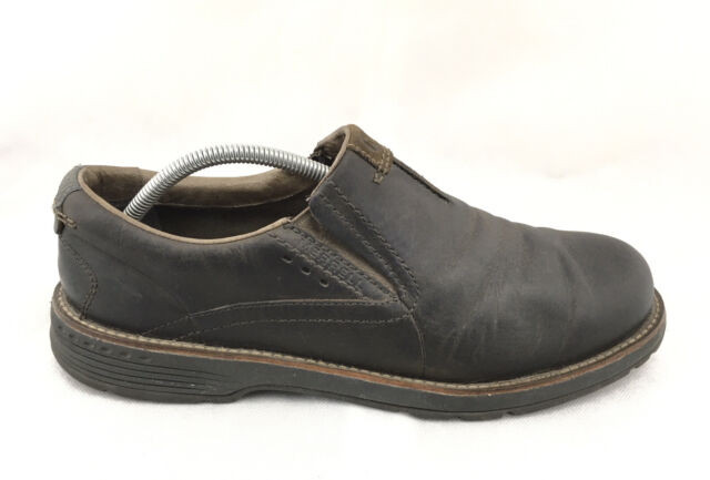 Loafers Mens Brown Leather Shoes Size