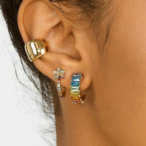 Fashion-Dangle-Drop-Stud-Earrings-Round-Glass-Colorful-Women-Party-Gift-Jewelry