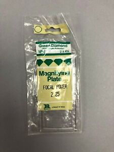 "MP-1-2.25 Anchor Glass Magnifying Lens//Cheater Lens Focal Power 2.25 2/""x4-1//4/"""