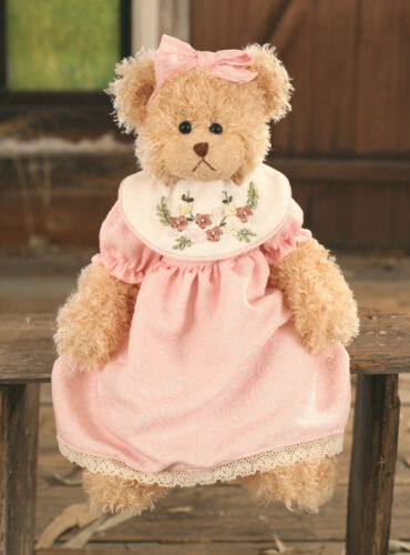 Teddy Bear /'Clementine/' Settler Bears Handmade Collectable Dressed Gift 38cms
