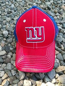 Reebok NEW YORK GIANTS One Size Fitted Blue NFL Dad Hat Baseball Cap ... 26758515e