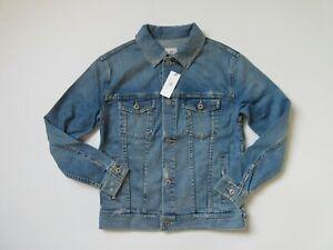 NWT-AG-Jeans-Adriano-Goldschmied-Nancy-17-Year-Grunge-Boyfriend-Denim-Jacket-XS