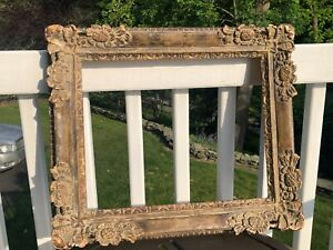 Charles E. Prendergast (American, 1863-1948) Baroque-style Picture Frame Signed