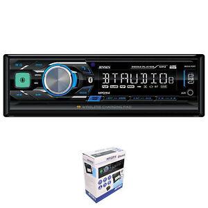 Jensen MPQ914 Single Din Bluetooth AM/FM USB/AUX Digital Car Stereo