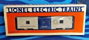 NOS-Lionel-Train-O-Gauge-6-19708-90th-Anniversary-Bay-Window-Caboose-1990-Box