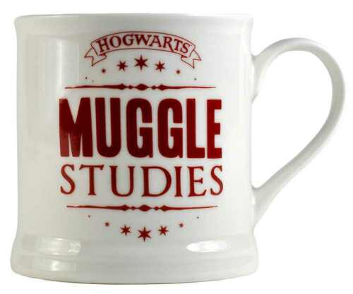 OFFICIAL HARRY POTTER MUGGLES STUDIES VINTAGE STYLE COFFEE MUG CUP NEW & BOXED