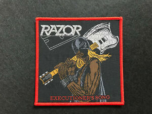 Razor-034-Executioner-039-s-Song-034-Patch-agent-steel-vulture-artillery-ranger-exciter