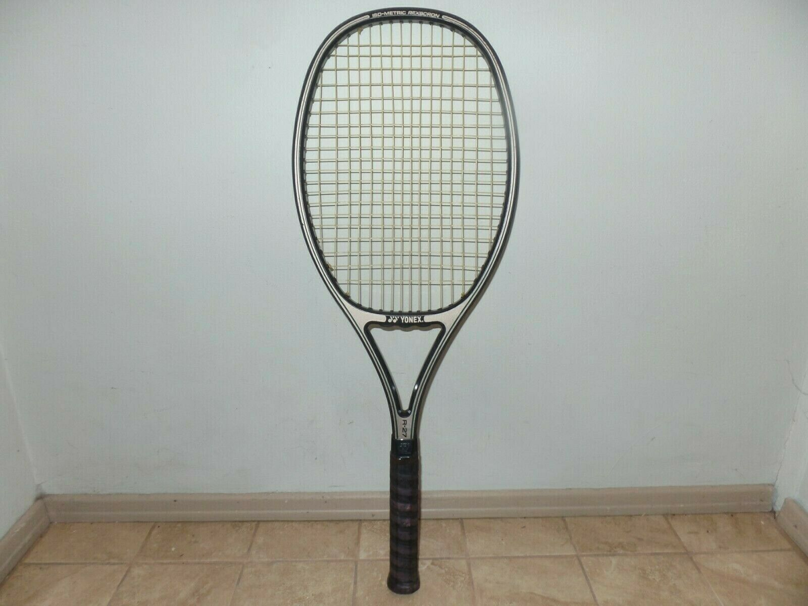 Yonex R-27 Iso Metric Rexbgoldn Mid Size Tennis Racquet