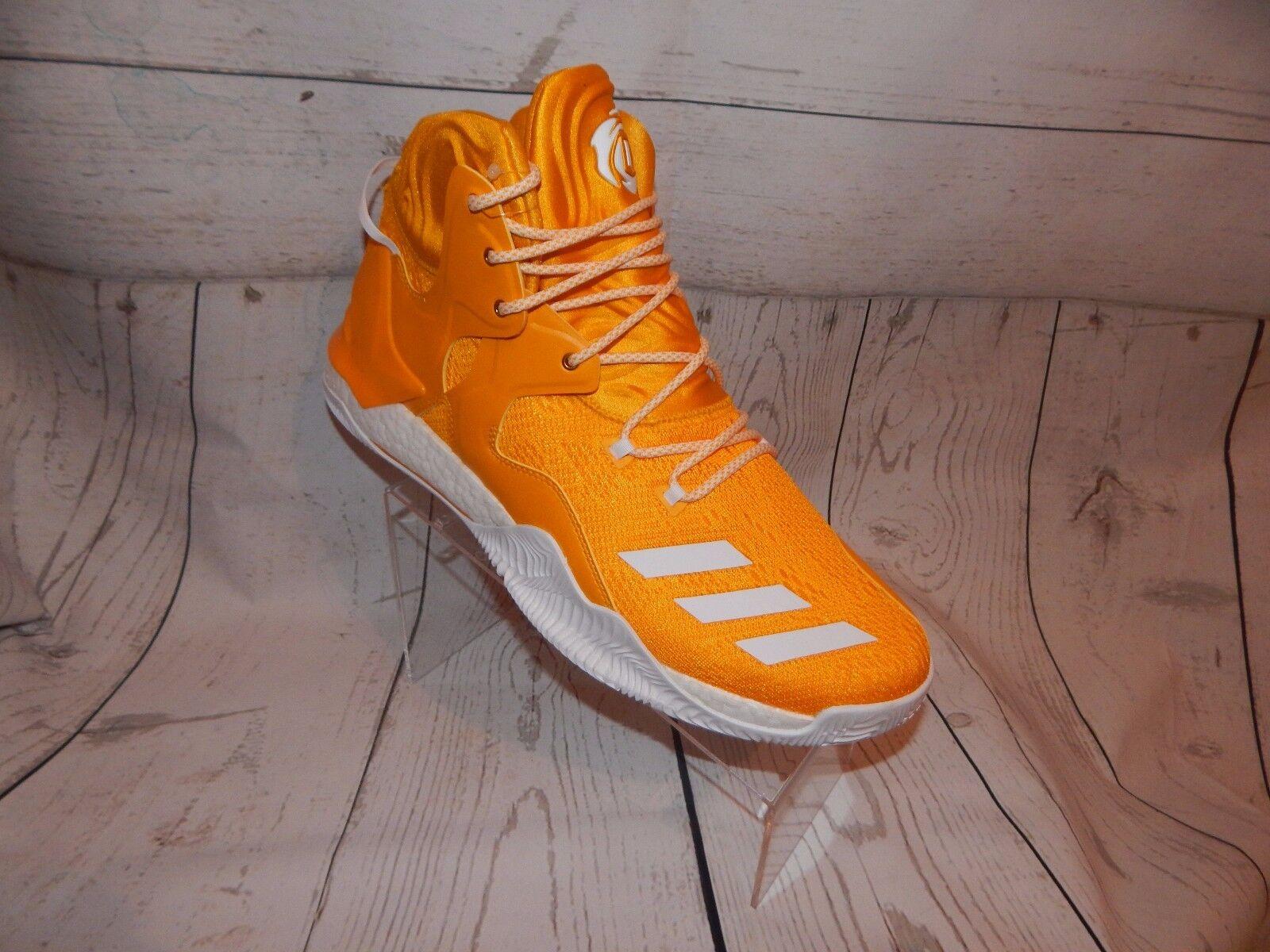 ADIDAS D pink 7 BOOST NCAA YELLOW gold B38939 - Basketball  Men's shoes SZ 13.5