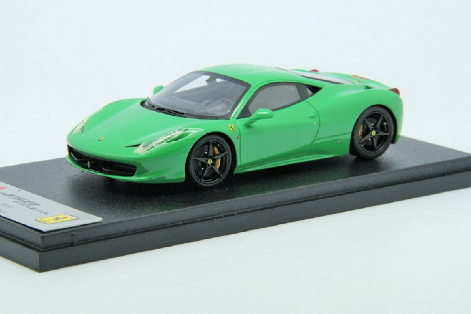 1   43 BBC Ferrari Ferrari Ferrari 458 Italia verde Free Shipping   Mr frontiart 7b7
