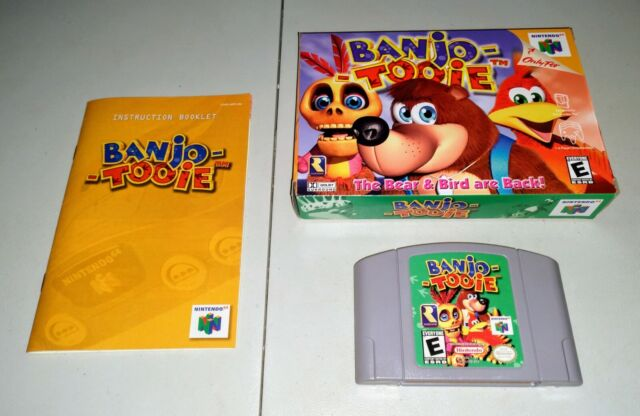 Banjo Tooie complete in box - N64 Nintendo 64 - Free Shipping