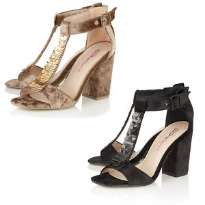 Dolcis-Ladies-Crushed-Velvet-T-Bar-Ankle-Strap-Evening-Wedding-Party-Shoe-Sandal