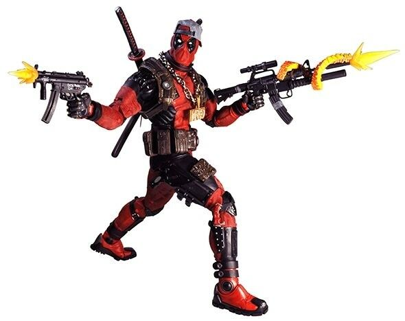 NECA - Deadpool - Deadpool Ultimate 1 4 Scale Action Figure