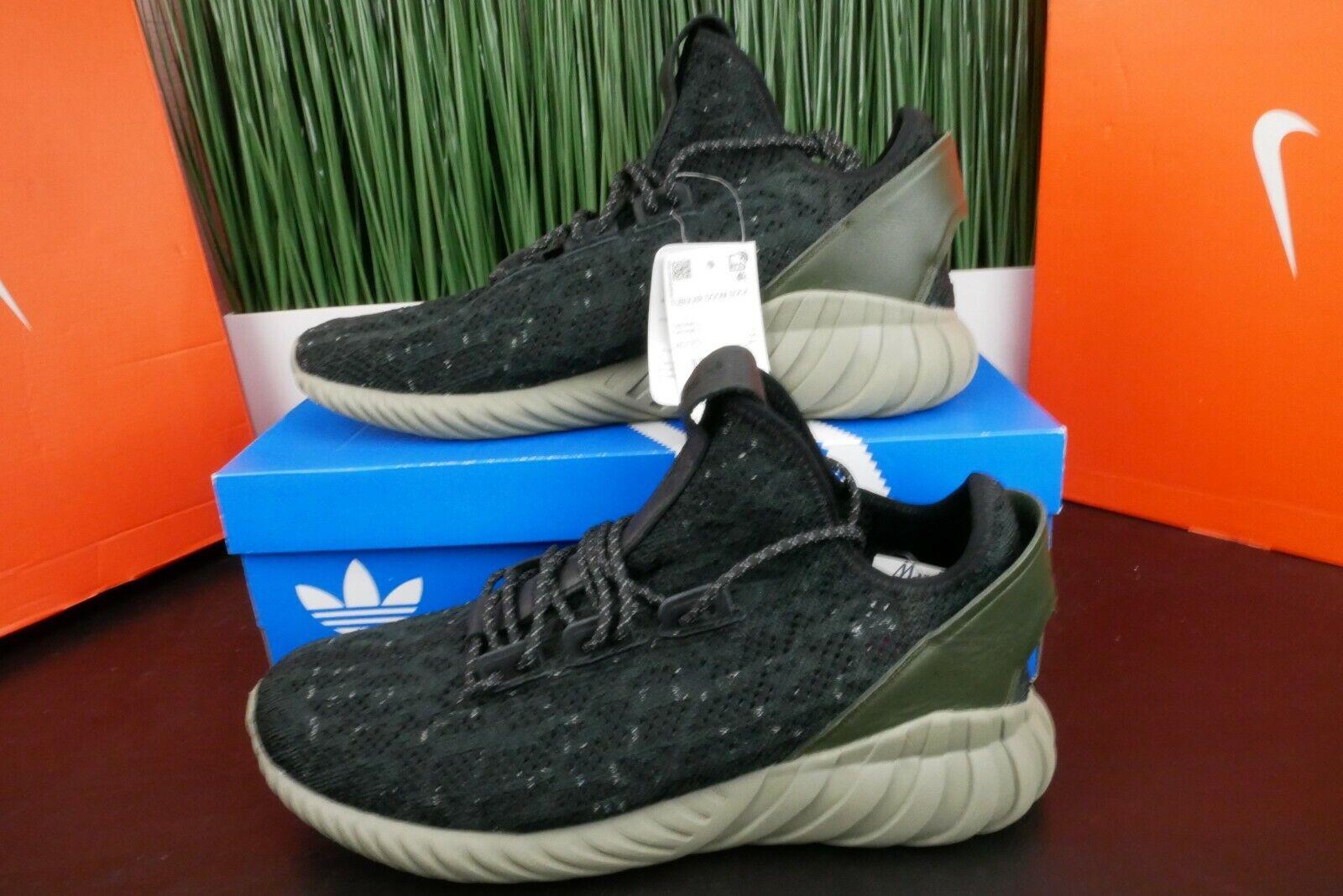 Adidas Tubular Doom Sock Running shoes Black AC7375 Size 11.5