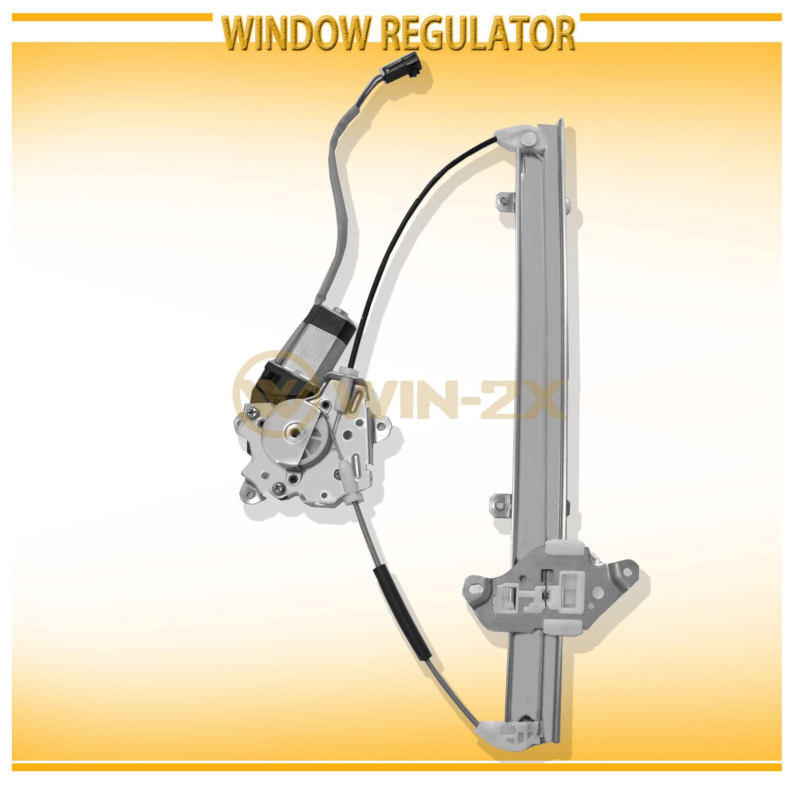 New Window Regulator Front Left with Motor fits 2000-2006 Nissan Sentra