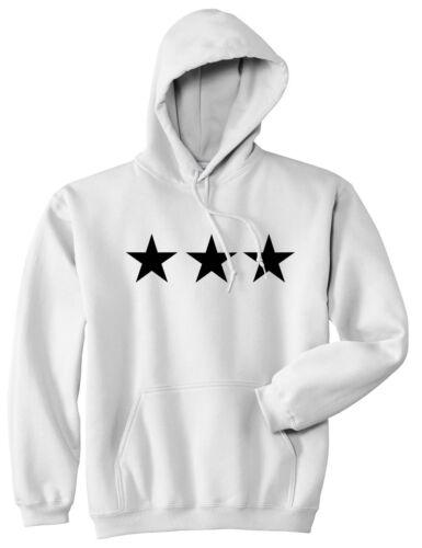 Kings of NY 3 Stars Military Style 50//50 Pullover Hooded Sweatshirt Hoody Hoodie