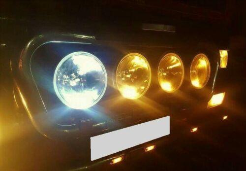 6 x White XL LED 24v Capless Side Light 501 W5W 5 SMD T10 Wedge Bulbs HGV Truck