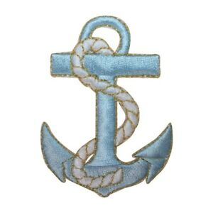 1PC~NAUTICAL ROPE~IRON ON EMBROIDERED APPLIQUE PATCH