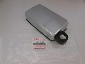Deckel-Werkzeugfach-Abdeckung-Chromdeckel-COVER-TOOL-HOLDER-Suzuki-LS-650-Savage