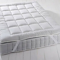 Luxury Mattress Topper 2 Hypoallergenic Overfilled Down Alternative Anchor Band