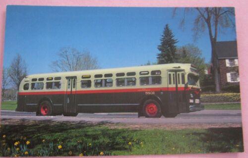 Ottawa Transportation Commission Bus No 5931 Queen Elizabeth Driveway Postcard