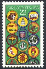 USA 1987 Girl Scouts/Scouting/Badges//People/Leisure/Youth 1v (n40807)