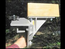 Side Saddle Canoe Motor Mount - Fits Old Town with Vinyl Gunwales